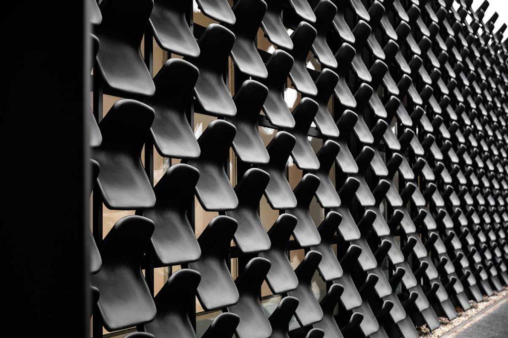 fachadas reutilizan materiales